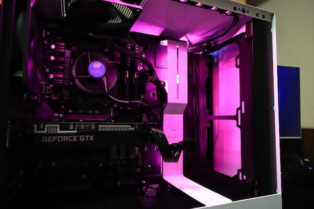 Core i7 9700 PC自作