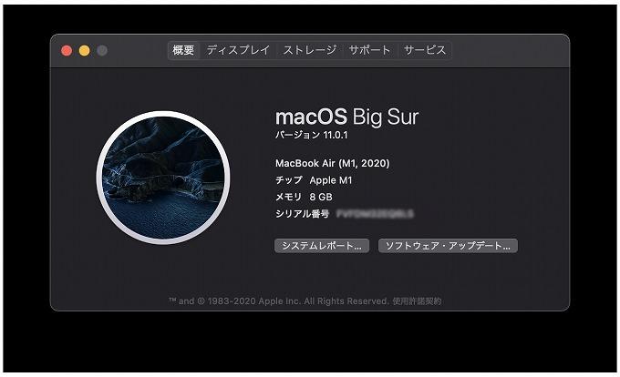 Macbook Air (M1,2020)